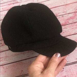Juicy Couture Wool Newsboy Cap Hat